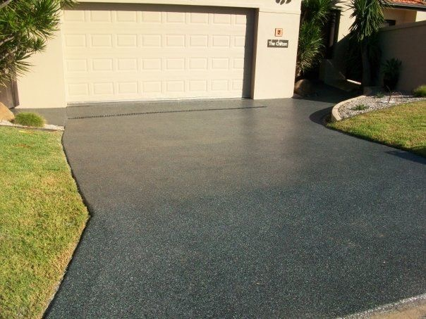 Epoxy coated driveways Glen Alpine